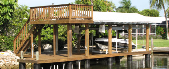 Collier County 2 Floors Dock | Southern Exposure LLC